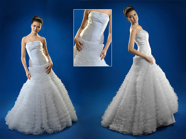 Train wedding dresses
